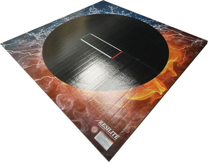 Home Use 10 X 10 Liteweight Mat Ready To Ship Digiprint