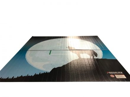 10' x 10' Home-Use LiteWeight Mat - DigiPrint Coyote Theme