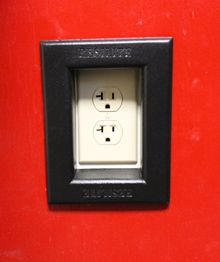 Rubber Outlet/Receptacle Cover Insert