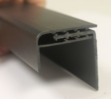 Edge Cap Trim Molding for LiteWeight Wall Padding