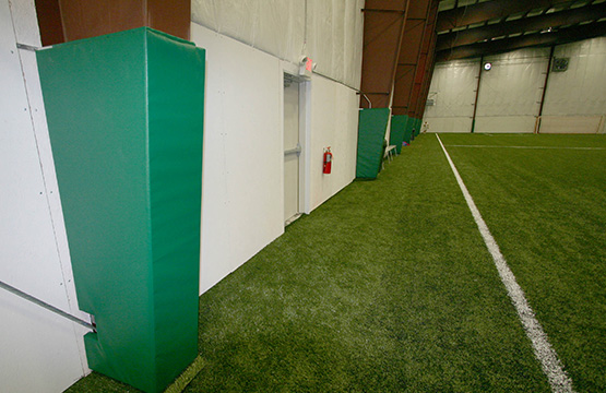 football drill equipment and custom padding