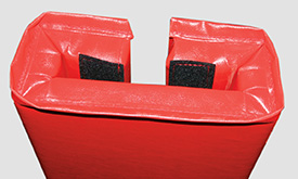 Safety Padding For Columns Industrial Facility