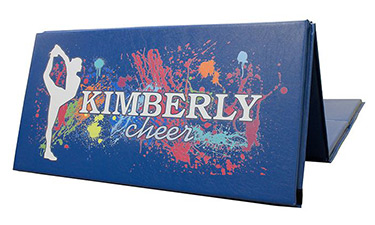 Personalized Cheer Folding Mat