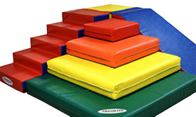 Soft & Active Preschool Play Equipment