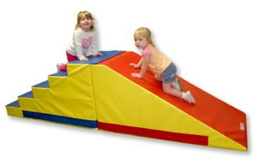 preschool climb-and-slide mat