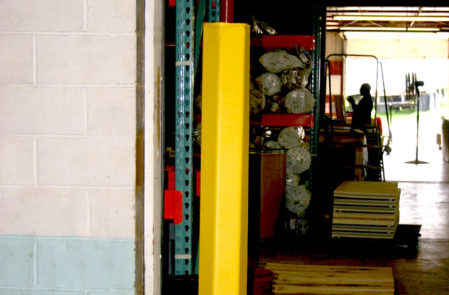 Safety Padding For Columns Industrial Facility Protection Resilite Sports